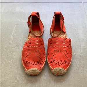 Tory Burch Persimmon Espadrille Shoes